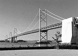 Bridge Linking Shikoku with Honshu