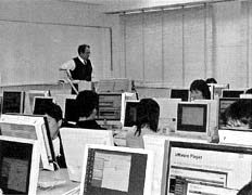 Exercise in Computer Room